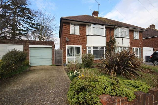 Thumbnail Semi-detached house for sale in Nelson Road, Goring, West Sussex