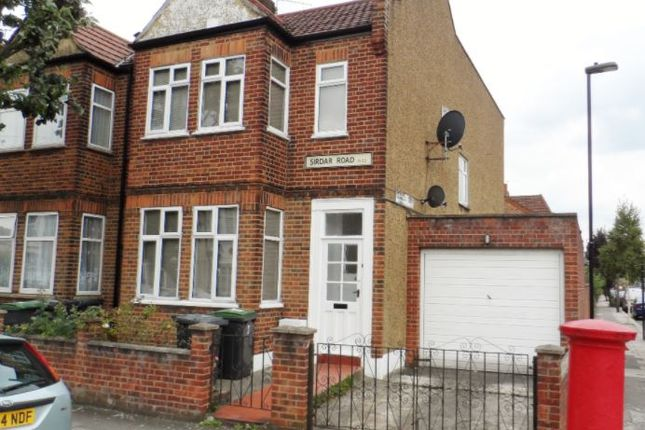 Thumbnail End terrace house to rent in Sirdar Road, Wood Green, London