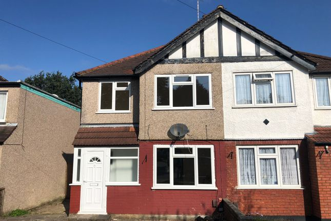 Thumbnail Semi-detached house to rent in Harrow Weald, Harrow, Middlesex