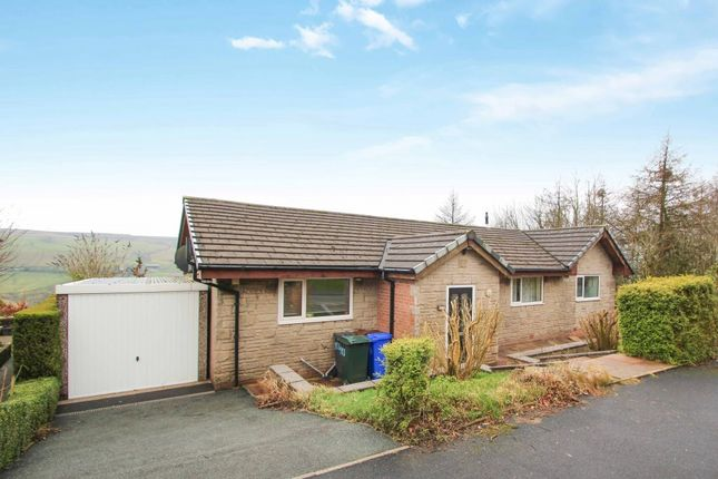 Thumbnail Detached bungalow for sale in Bankside Lane, Bacup, Rossendale