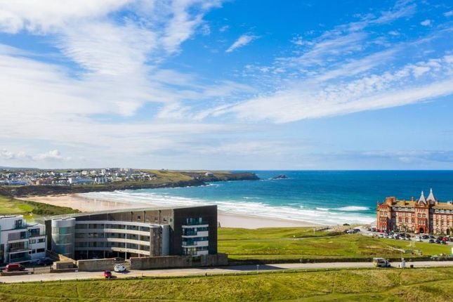 Thumbnail Flat for sale in Fistral Blue, Headland Road, Newquay, Cornwall