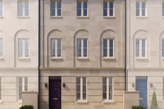 Thumbnail Terraced house for sale in Plot 42, Holburne Park, Warminster Road, Bath