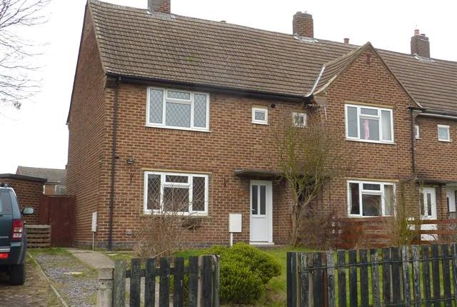 2 bed semi-detached house to rent in Chestnut Avenue, Midway, Derbys. DE11