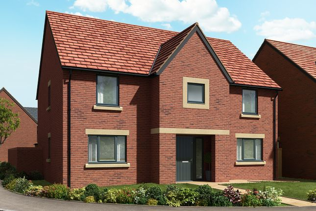 "Thumbnail Detached house for sale in ""The Carnarvon "" at Cautley Drive, Killinghall, Harrogate"