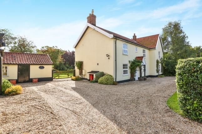 Thumbnail Detached house for sale in Morley St. Botolph, Wymondham, Norfolk