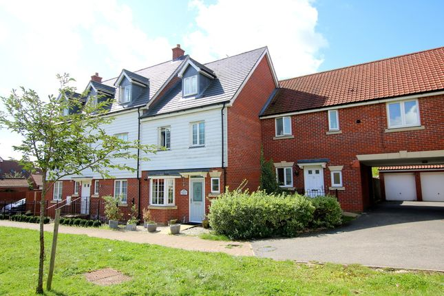 Thumbnail Terraced house for sale in Cromwell Road, Flitch Green, Dunmow