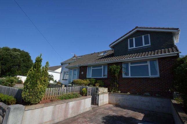 Thumbnail Detached bungalow to rent in Seaway Lane, Torquay, Devon