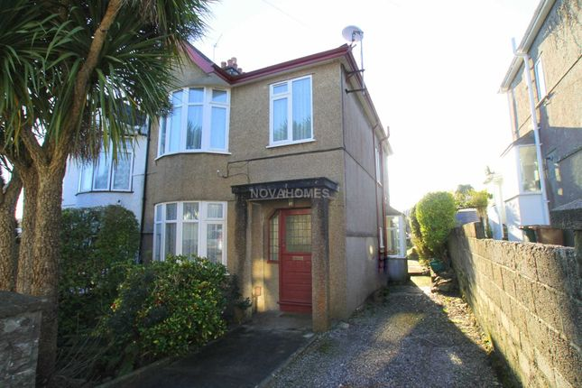 3 bed semi-detached house for sale in Brynmoor Close, Higher Compton