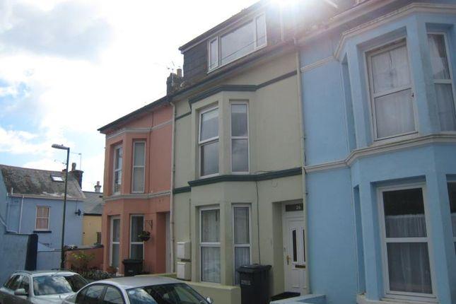 Thumbnail Maisonette to rent in South Furzeham Road, Brixham, Devon