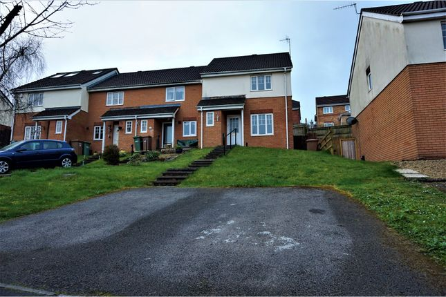 Thumbnail End terrace house for sale in Cwrt Draw Llyn, Caerphilly