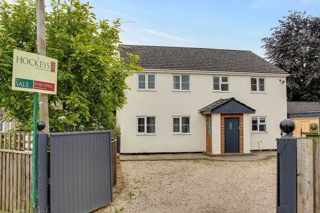 Thumbnail Detached house for sale in Church Road, Emneth, Wisbech