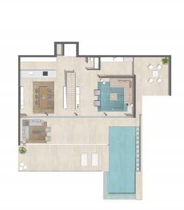 Floor Plan P01 of Spain, Mallorca, Capdepera, Cala Ratjada