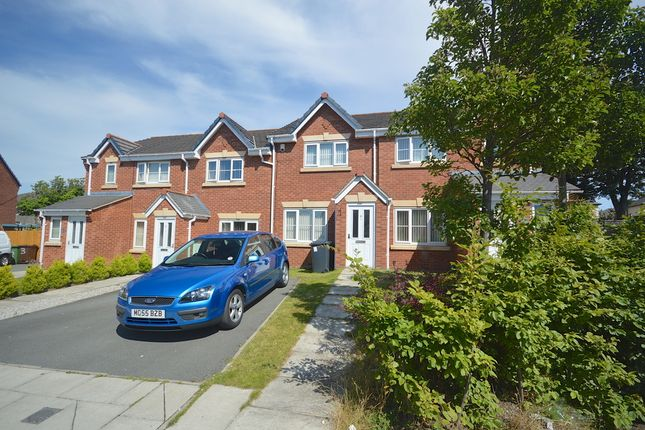 Thumbnail Town house to rent in Rokeby Close, Bootle