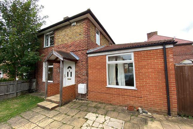 Thumbnail Semi-detached house to rent in Dore Gardens, Morden