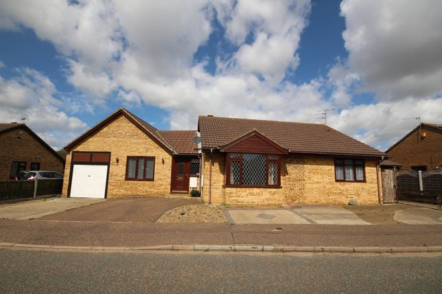 Thumbnail Detached bungalow for sale in Cormorant Way, Bradwell, Great Yarmouth