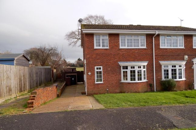 3 bed end terrace house to rent in Howard Close, Hailsham