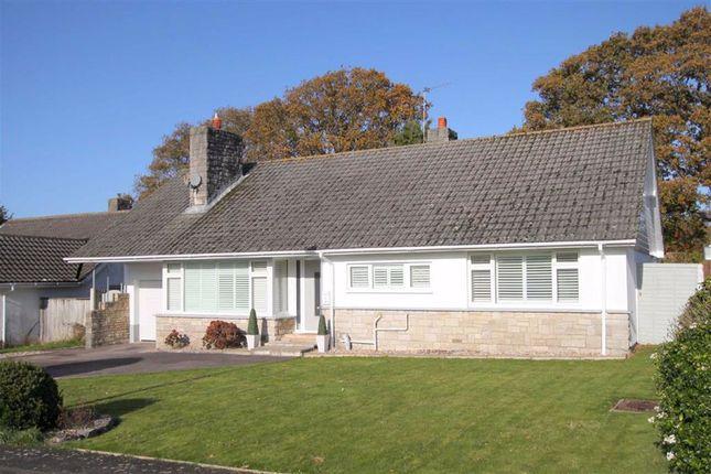 Thumbnail Detached bungalow for sale in Denham Drive Highcliffe, Christchurch, Dorset