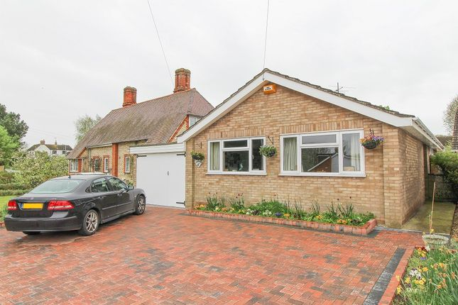 Thumbnail Detached bungalow for sale in Rectory Road, Meppershall