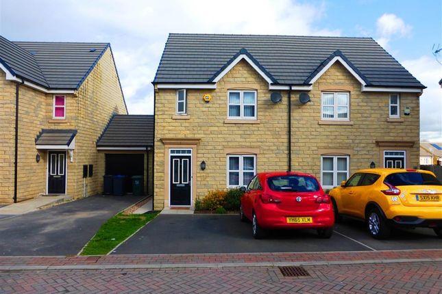 Thumbnail Semi-detached house to rent in Fairbairn Fold, Laisterdyke, Bradford