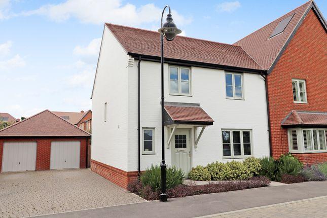 Thumbnail Semi-detached house for sale in Pembers Hill Drive, Fair Oak, Eastleigh
