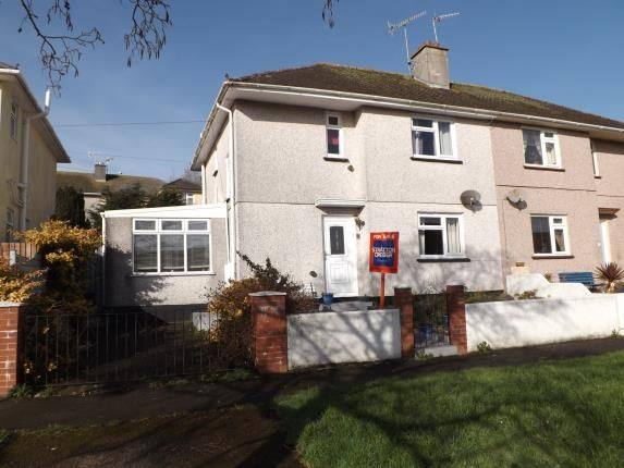 Thumbnail Semi-detached house for sale in Torpoint, Cornwall