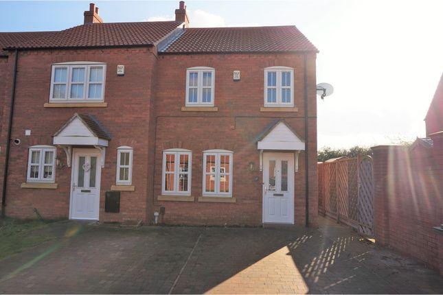 Thumbnail Semi-detached house for sale in Poachers Rise, Stallingborough