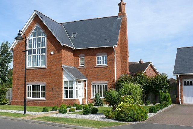 Thumbnail Detached house to rent in The Vistas, Wychwood Park, Weston, Cheshire