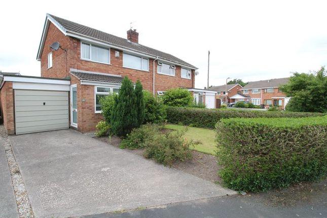 Thumbnail Semi-detached house for sale in Belmont Close, Burscough, Ormskirk