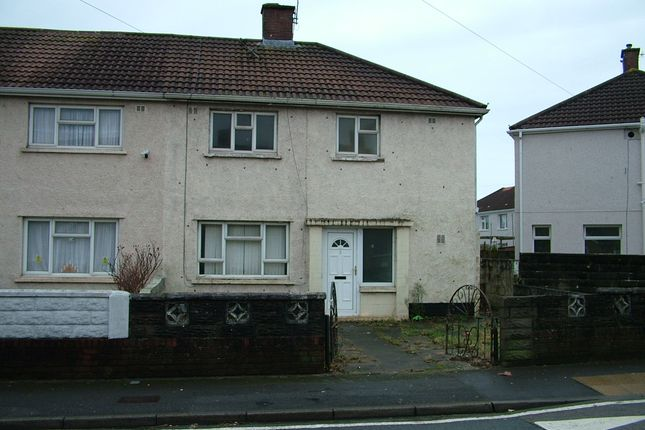 Thumbnail Semi-detached house to rent in Fairway, Port Talbot