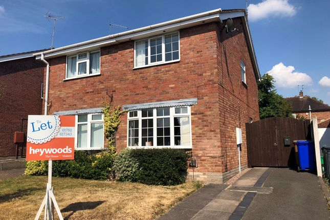 Thumbnail Semi-detached house to rent in Hawthorne Avenue, Trent Vale, Stoke-On-Trent