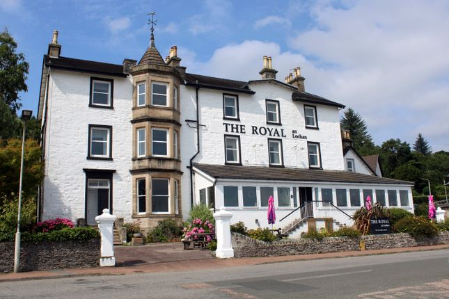 Thumbnail Hotel/guest house for sale in The Royal An Lochan Hotel, Shore Road, Tighnabruaich, Argyll
