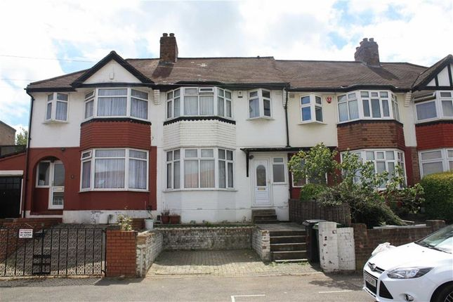Thumbnail Terraced house to rent in Clayhill Crescent, London