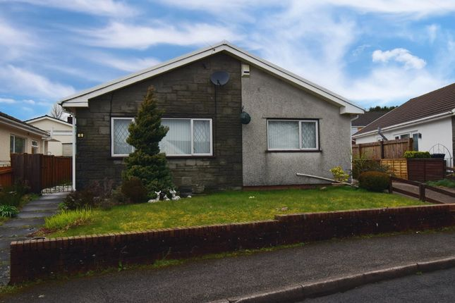 Thumbnail Detached bungalow to rent in Cedar Close, Rassau, Glynebwy