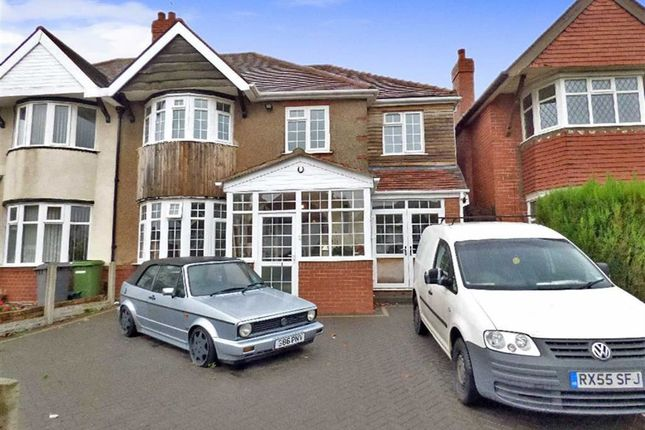 Thumbnail Semi-detached house for sale in Rosemary Crescent, Wolverhampton