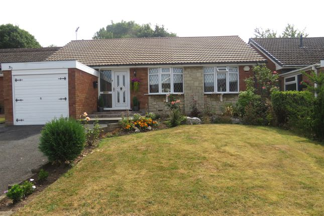 Thumbnail Detached bungalow for sale in Newquay Close, Walsall