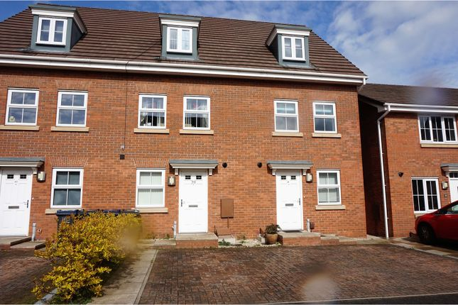 Thumbnail End terrace house for sale in The Shardway, Birmingham