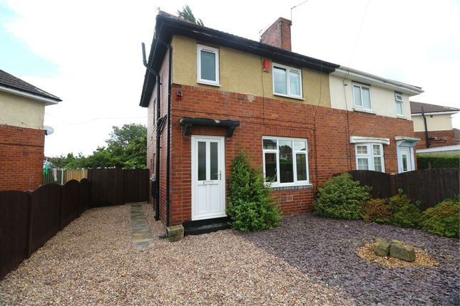 Thumbnail Semi-detached house to rent in Campbell Drive, Herringthorpe, Rotherham, South Yorkshire