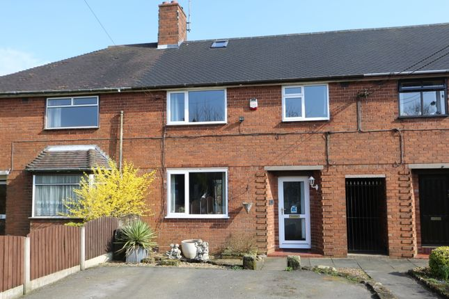 Thumbnail Town house for sale in Stallington Road, Blythe Bridge