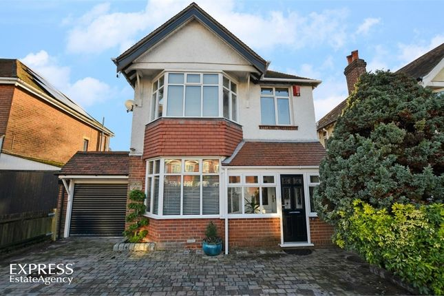 Thumbnail Detached house for sale in Chessel Avenue, Southampton, Hampshire