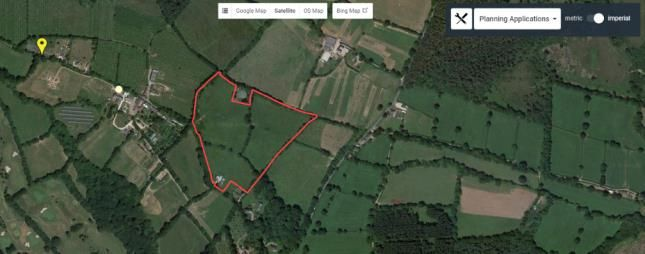 Thumbnail Land for sale in Woodbury, Exeter, Devon