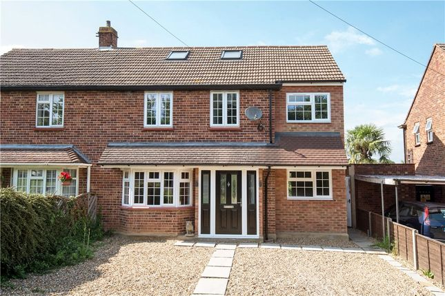 Thumbnail Semi-detached house for sale in Bittams Lane, Chertsey, Surrey
