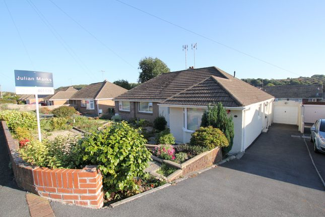 Thumbnail Semi-detached bungalow to rent in Green Park Road, Plymstock, Plymouth