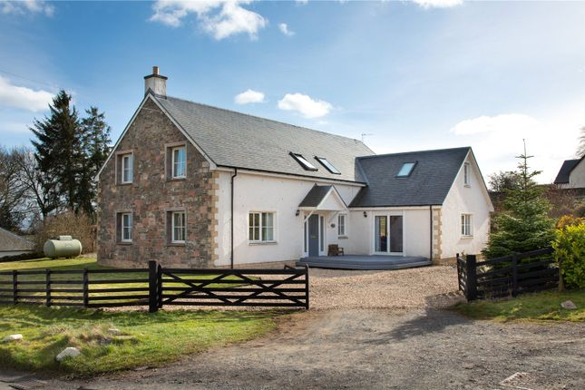 Thumbnail Detached house for sale in Trimontium View, Midlem, Roxburghshire