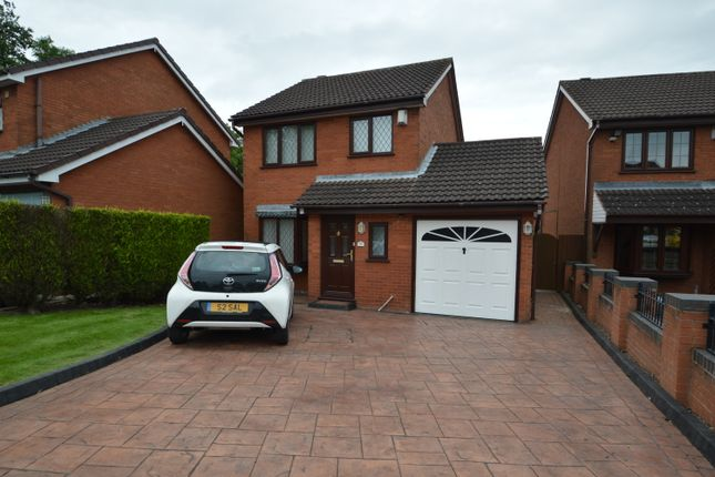 Thumbnail Detached house to rent in Gorsemoor Road, Heath Hayes