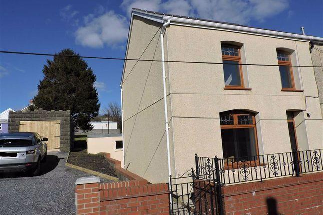 Semi-detached house for sale in Chapel Street, Upper Brynamman, Ammanford