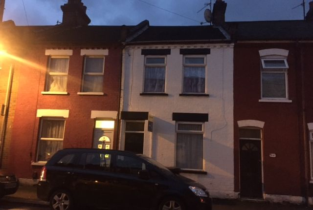 Thumbnail Terraced house to rent in Wimborne Road, Luton