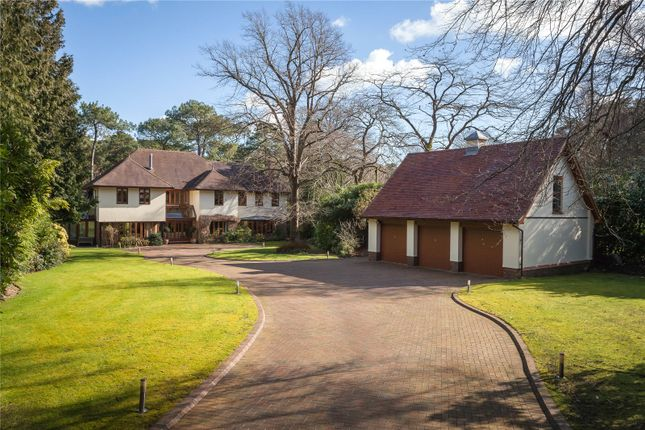 6 bed detached house for sale in Western Road, Branksome Park, Poole, Dorset