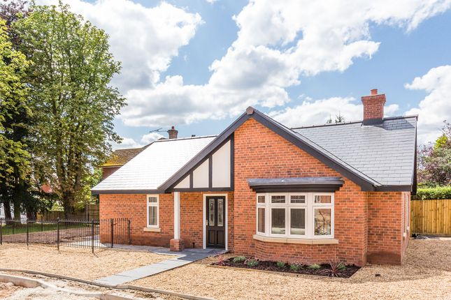 Thumbnail Detached bungalow for sale in Barrowby Court, Highland Grove, Worksop