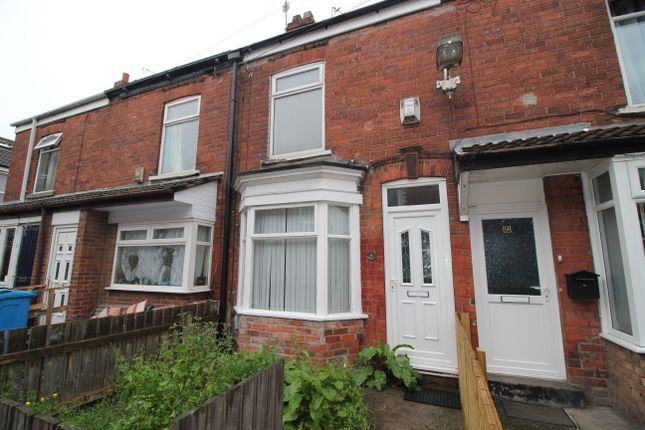 Thumbnail Terraced house to rent in Alaska Villas, Barnsley Street, Hull