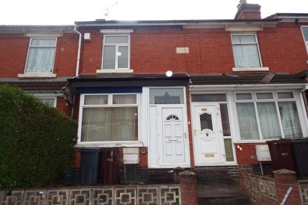 Thumbnail Terraced house to rent in Burleigh Road, Wolverhampton